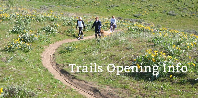 Wenatchee Foothills Trails Opening Info