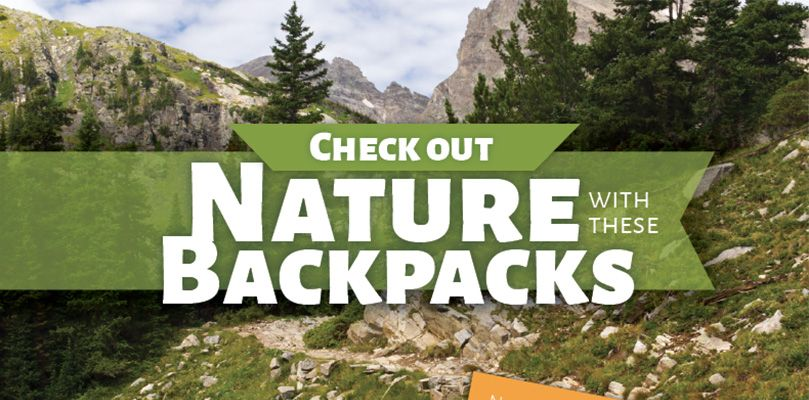 Check out nature with these backpacks