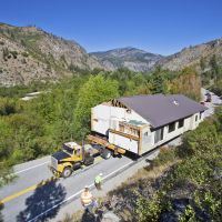 Entiat Enlow House Move